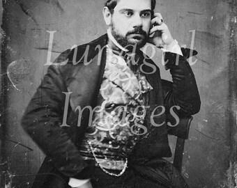 300 VINTAGE PHOTOS, Antique Daguerreotypes, GOTHIC vintage images, Victorian Men Women family portraits, steampunk digital ephemera Download