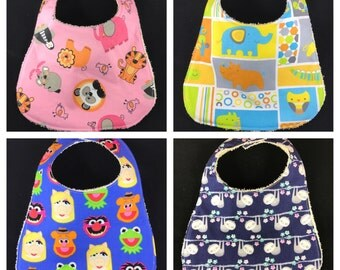 Baby Bib - Animals, Zoo, Muppets