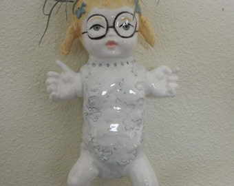 Baby Sharon wall dolly