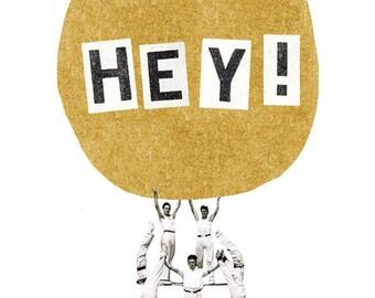 Hey ! card