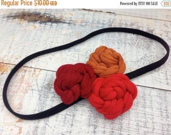 SALE- T-Shirt Bloom Headband-Fire-Eco Friendly