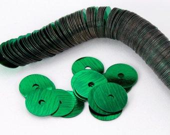 6mm Green Flat Sequin (1000 Pcs) #6575