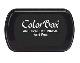 ColorBlock Archival Dye Ink Pad Black