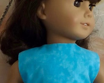 18 inch Doll Clothes Light Turquoise Modified Crop Top NEW Style