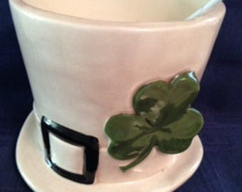 Shamrock Scented Soy Candle, St. Patricks Day,