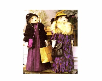 Shopper Doll McCalls 2827 Crafts Sewing Pattern