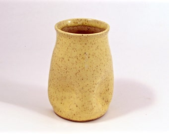 adult squishy cup in yellow