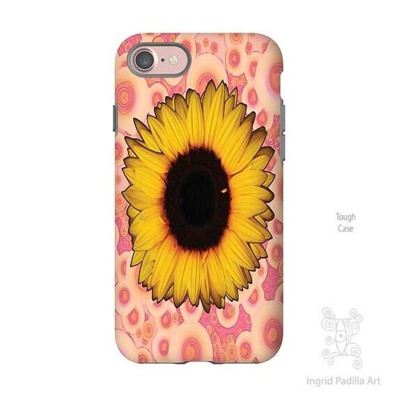 Sunflower Phone case, iPhone 7 case, iphone 7 plus case, iPhone 6s Case, iPhone 6 Case, iPhone 5S case, iPhone 6 plus case, Galaxy S7 Case