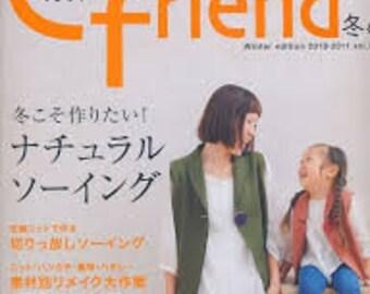 Japanese Craft Magazine Cotton Friend 37