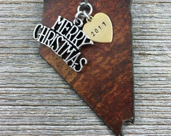 NEVADA Christmas Ornament, NEVADA Ornament, Christmas Gifts 2017 Christmas Ornaments, Personalized Gift, NEVADA Ornaments