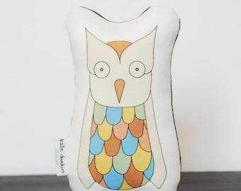 Mini Owl Plush Toy