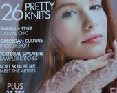 Knitting Patterns Vogue Knitting Early Fall 2015 Women Sweaters Cardigans Hats Vest Gloves Scarf Cowl Coat Paper Original NOT a PDF