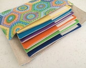Cash budget wallet - Kaleidoscope 6 envelopes