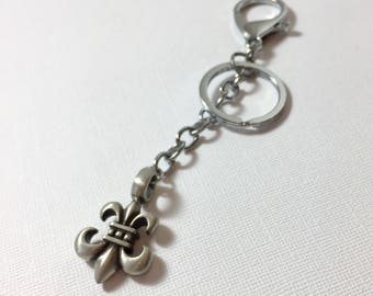Fleur It Fleur de Lis Key Chain