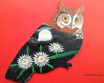 Night-Blooming Cereus Owl