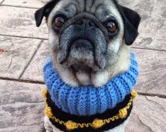Custom Dog Neck Warmer - Made to Order - Woofie Warmer - You choose the colors