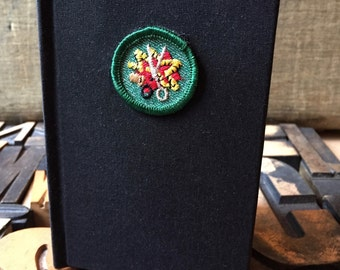 Girl Scout Badge Journal Sewing  Badge -  Lined