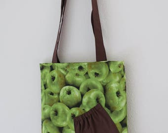 Easy Tote : Green Apple