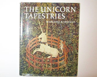 Unicorn Tapestries by Margaret B. Freeman Hardcover Book 1976 Metropolitan Museum of Art