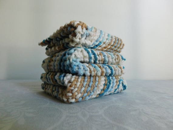Beachside Dishcloth Trio