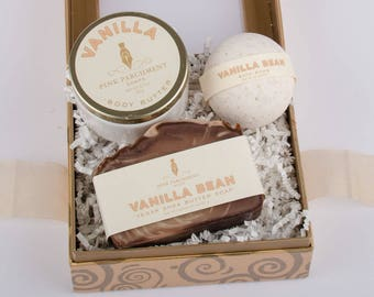 Spa Gift Set -  Choose Your Scent - Bath Gift Set - Bridesmaid Gift Box - Gift For Mom - Gift For Her - Mothers Day Gift