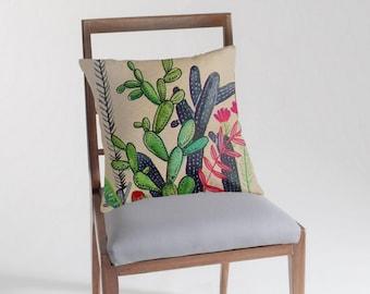 Cacti 3 - Pillow