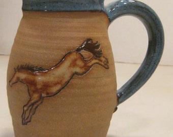 LEFTY Horse   Mug   ...................                       e873