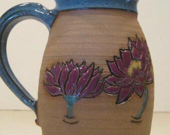 Lily pad Flower   Mug ........               A51
