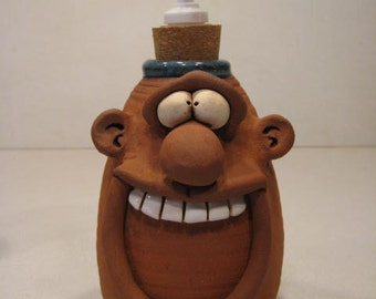 Happy Guy   Soft Soap or Lotion bottle ....