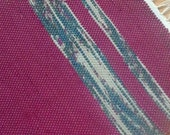 CLARET Woven Rag Throw Rug 166