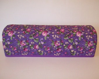 Cricut Explore/ Air / Air 2 / Expression/ Scan n Cut Cover/ Silhouette Cameo/ Cricut Cutter Protector/ Quilted Dust Cover/ Lavender Floral