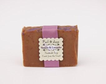 Vanilla & Lavender Goat Milk Soap