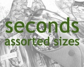 SECONDS Assorted Sizes, Cloth Menstrual Pads, Panty Liners, Cloth Sanpro, Incontinence Pads, Flawed Seconds, Second Quality Pads