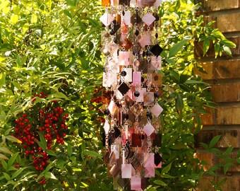 Unique Wind Chimes - Suncatcher - OOAK Gift For Her, Anniversary, Birthday, Wedding, Housewarming, Gotico Vittoriano