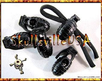 Plastic Grenade Paracord Locks