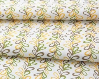 SALE organic cotton fabric by Daisy Janie - 1/2 YARD - Vinery Dawn