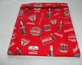 Microwave, Coke, Coca Cola, Baked  Potato Bag, Red Potato Bag, Large, Potato Sack, Handmade, All Cotton, Kitchen Utensil, Gift