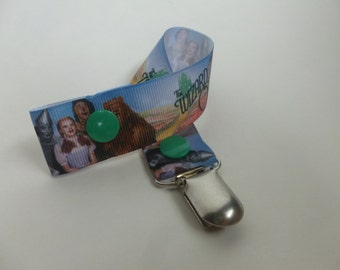 We're off to see the Wizard!  Pacifier/Toy Clip - Wizard of Oz