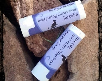 everything citrus lip balm