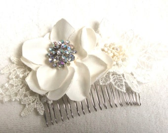 Bridal hair accessories, wedding hair accessories, bridal comb, wedding comb, bridesmaids, Handmade bridal hair comb