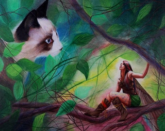 Elf & Fairy - Fine Art Print
