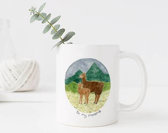 Mothers Day Mug / Ceramic Mug / Llama Mug / Mothers Day Gifts / Gifts for Her / Mom Mug / Gifts for Mom / Llamas / Funny Mug / Mothers Day