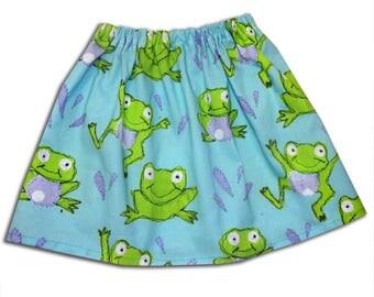 Girl's Frog Skirt / Children's / Kids / Baby Clothes