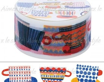 Cups & Saucers Washi Tape • Aimez le style Masking Tape (05748)