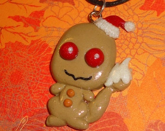Pokemon - Charmander Christmas Cookie Necklace - Limited Edition Charm