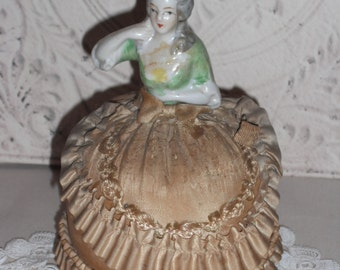 Vintage Doll Pin Cushion