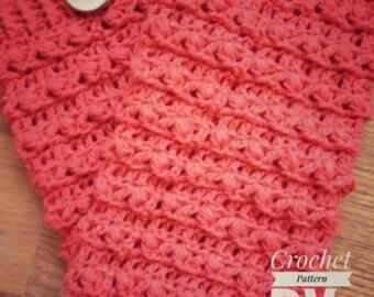 PDF Crochet Pattern - TWISTED LEGWARMERS Crochet Pattern- 6 Sizes