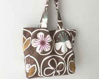 SALE - 30% OFF - Everyday Tote - Groovy Baby Chocolate