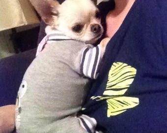 Dog Clothing Basic Style Pajamas To Order Size XSmall to XLarge