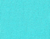 Blue Curacao 2x1 RIBBING, Cotton Lycra blend, Fat Eighth, 9 x 21 inches